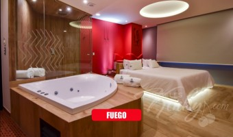 Love Hotel Quinto Elemento , Habitación Suite Jacuzzi