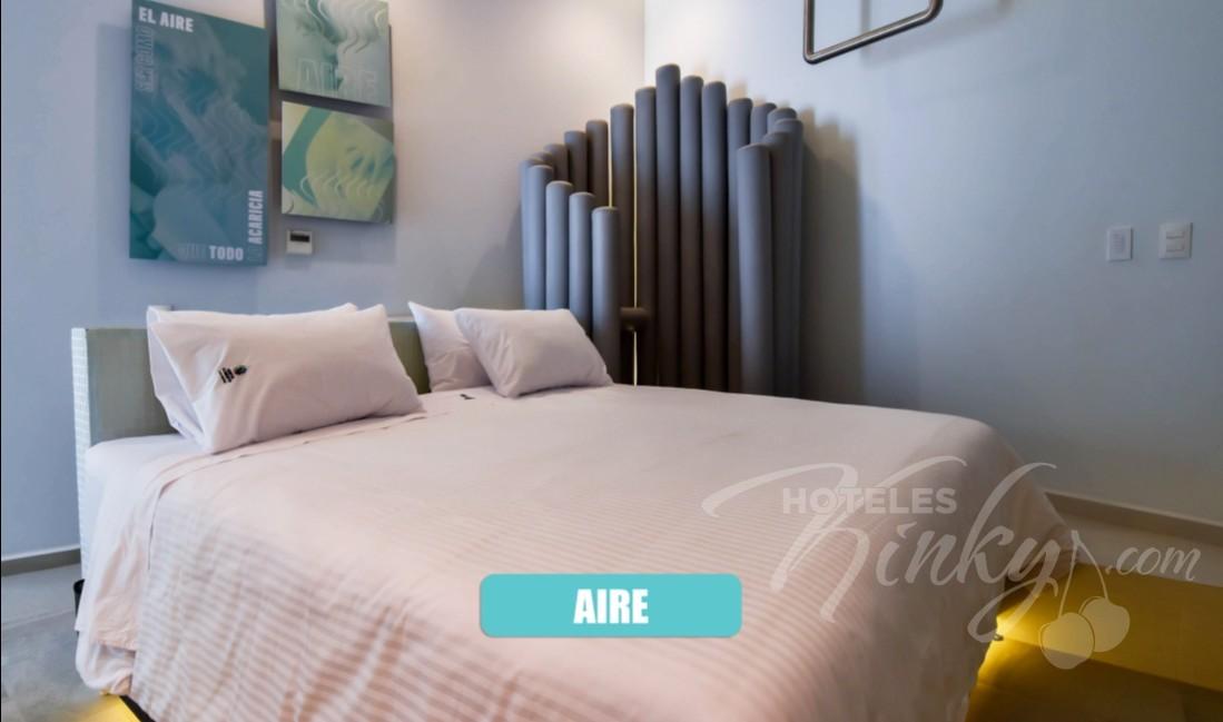 Love Hotel Quinto Elemento , Habitacion Villa