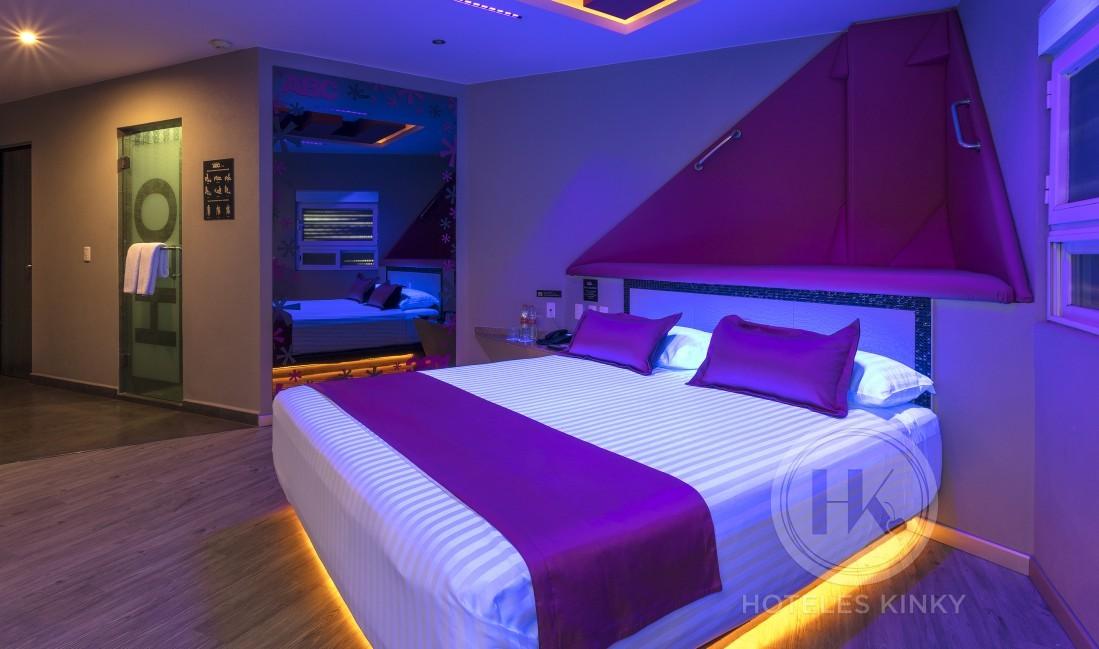 Habitaciòn Villa con Alberca del Love Hotel ABCentral