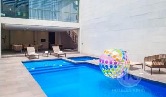 Love Hotel Akua Luxury Suites , Habitacion Alberca