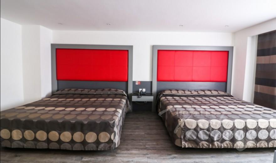 Love Hotel Atenas Plaza, Habitacion Doble