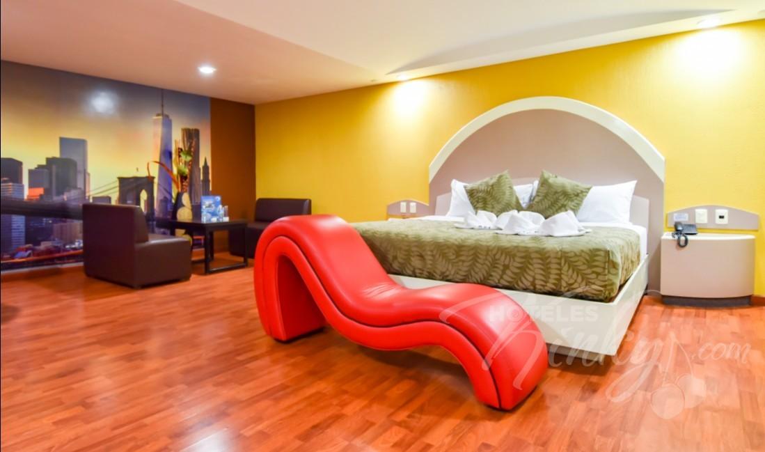Love Hotel Atizapán Hotel & Villas , Habitacion Hotel Master