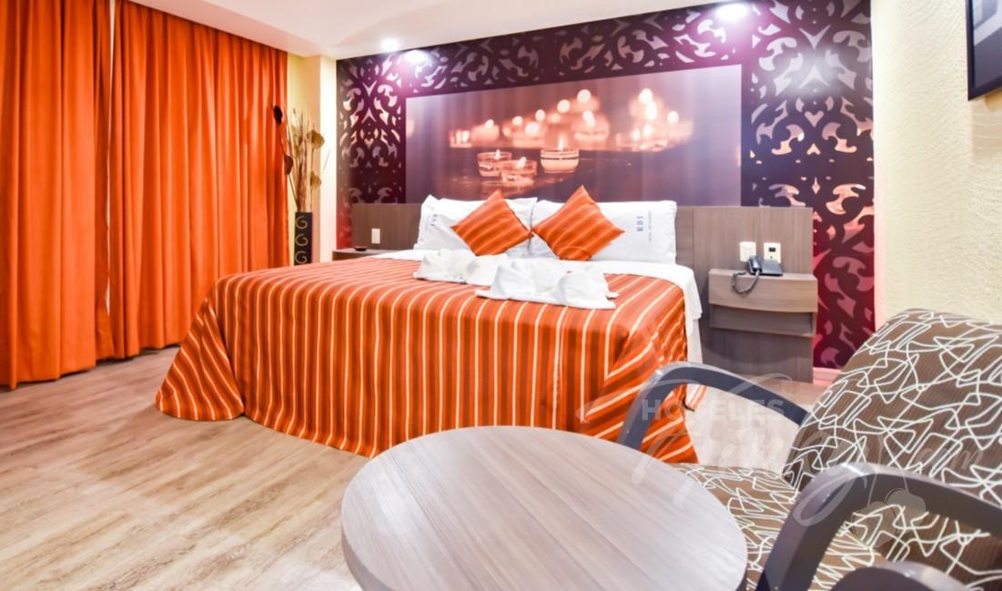 Love Hotel Atizapán Hotel & Villas , Habitacion Hotel Suite