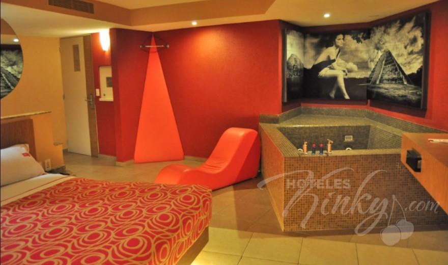 Love Hotel Aztlán Hotel & Villas , Habitacion Villa Jacuzzi