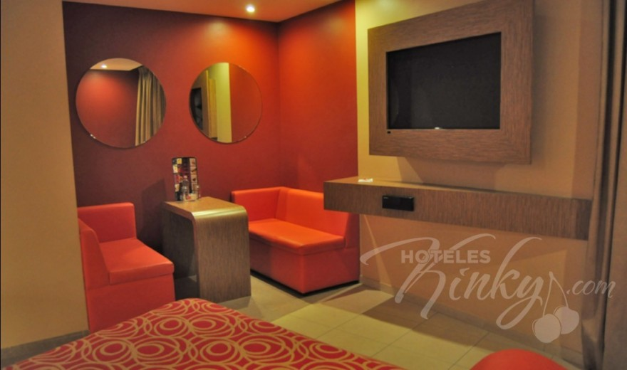 Love Hotel Aztlán Hotel & Villas , Habitacion Villa King Size