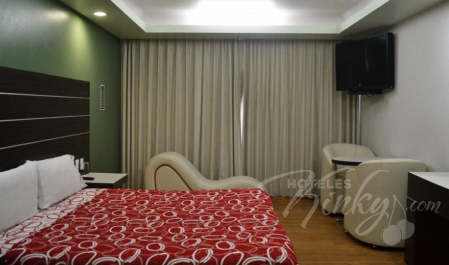 Habitaciòn Villa Sencilla del Love Hotel Bikos Hotel y Villas