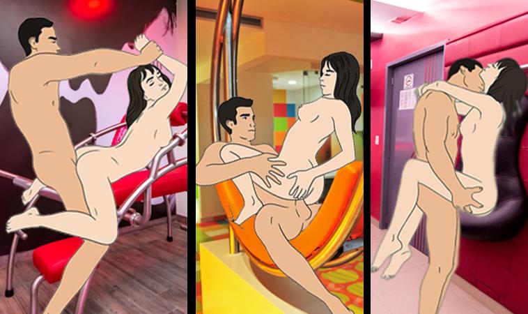 Aumenta tus movimientos sexuales en estas Atracciones