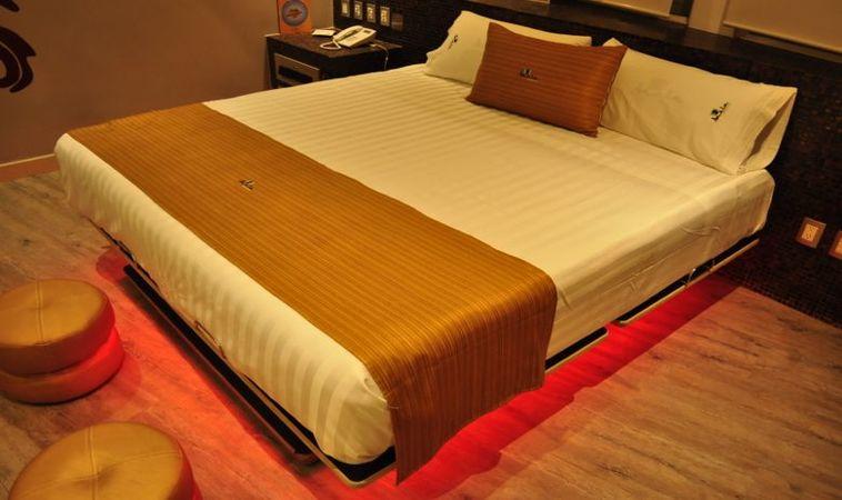 Crazy bed: una cama que vibra para tu placer