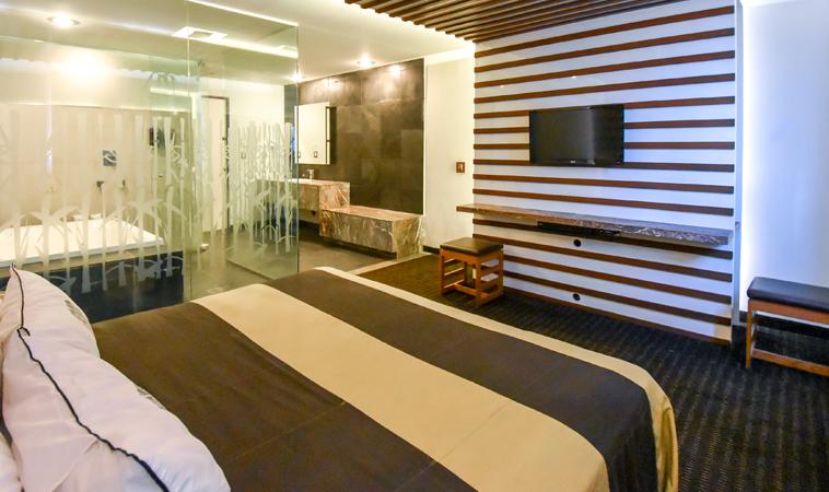 En el Love Hotel Aragón Plaza, ¡explora tu lado más zen!