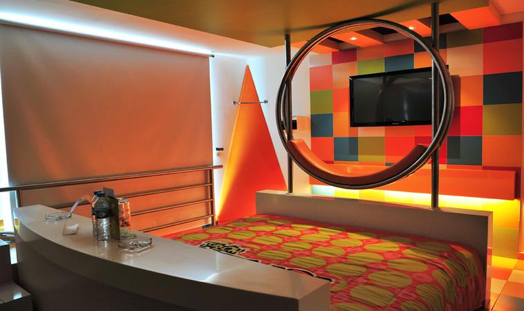 Hotel Pop Life: un motel inspirado en el arte pop