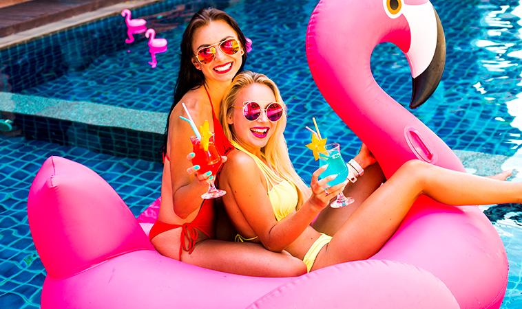 Las mejores habitaciones para organizar una Pool Party