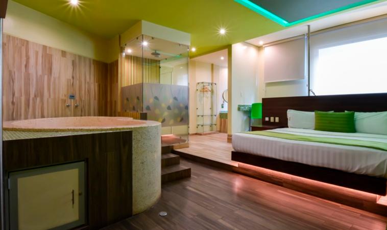 Love Hotel Natura: ¡Confortable y ecológico!