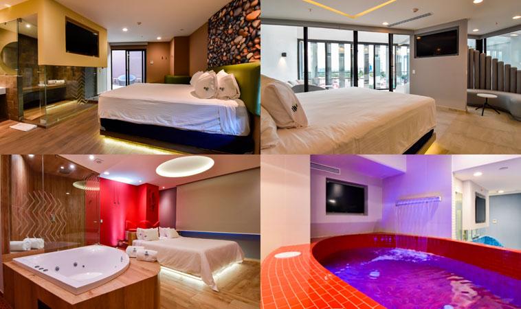 Love Hotel Quinto Elemento: ¡Naturaleza hecha placer!