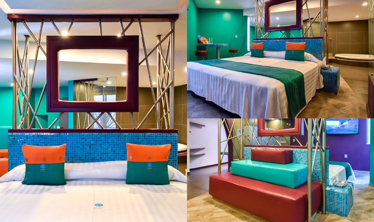 Love Hotel Tacubaya: ¡Retro y muy chic!