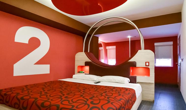 Love Hotels imperdibles en la zona Centro
