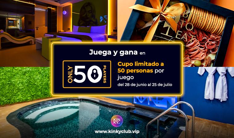 Only 50: ¡Juega por las experiencias más Kinky!