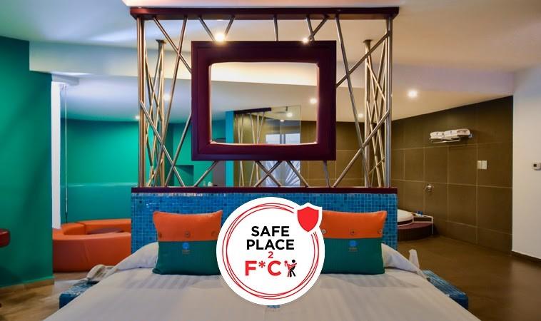 Tacubaya, un motel colorido retro, chic y muy hot