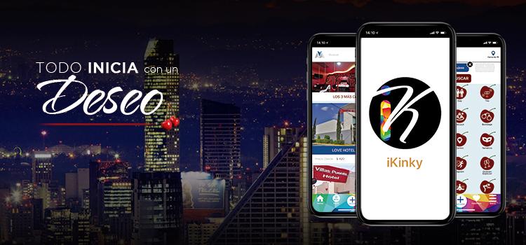 Diferencias entre Hoteles Kinky y la app iKinky: Todo inicia con un deseo