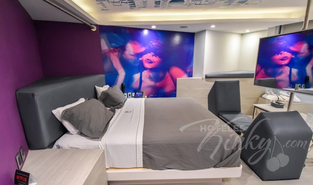 Habitaciòn Junior Suite Tech del Love Hotel Bonn