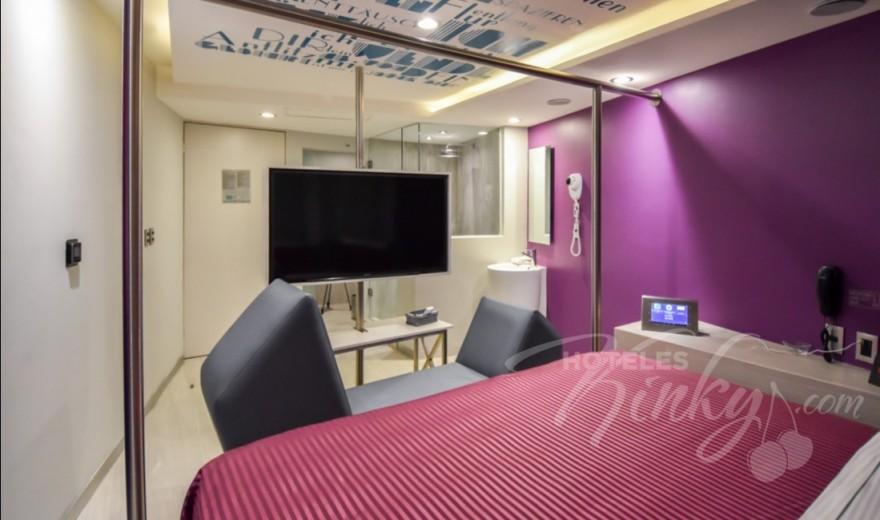 Love Hotel Bonn, Habitacion King Size Tech