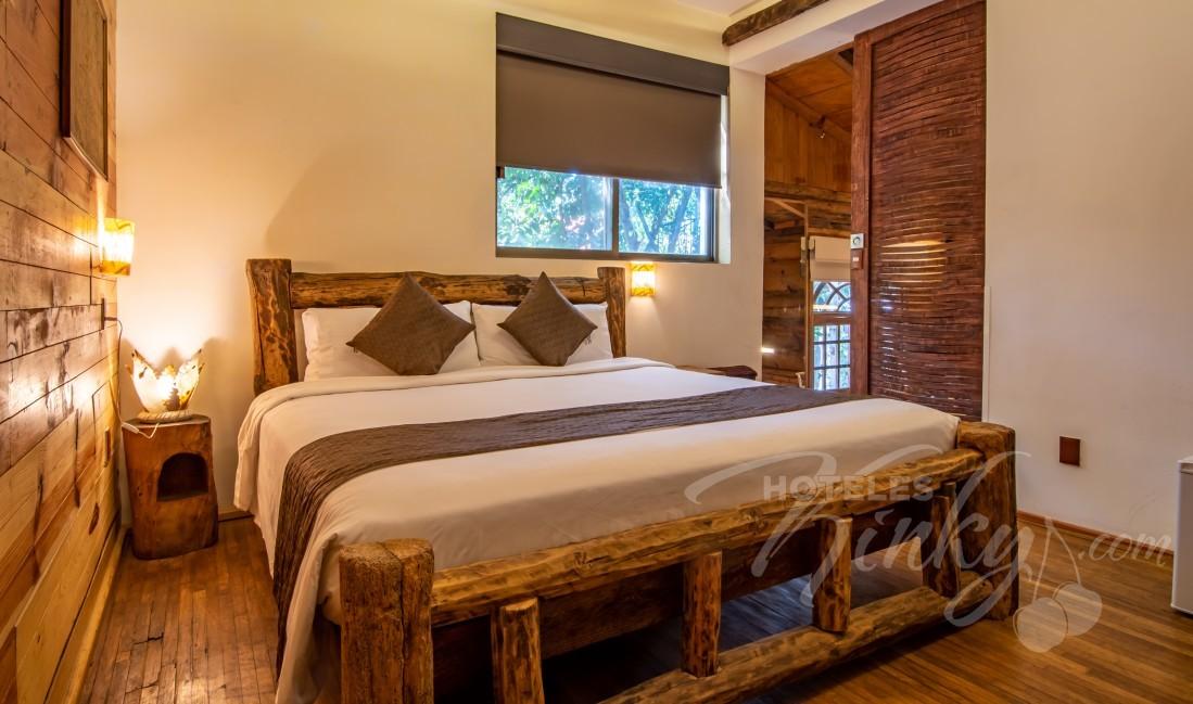 Love Hotel Casa Anzures Suites , Habitación Jr. Suite Cabaña