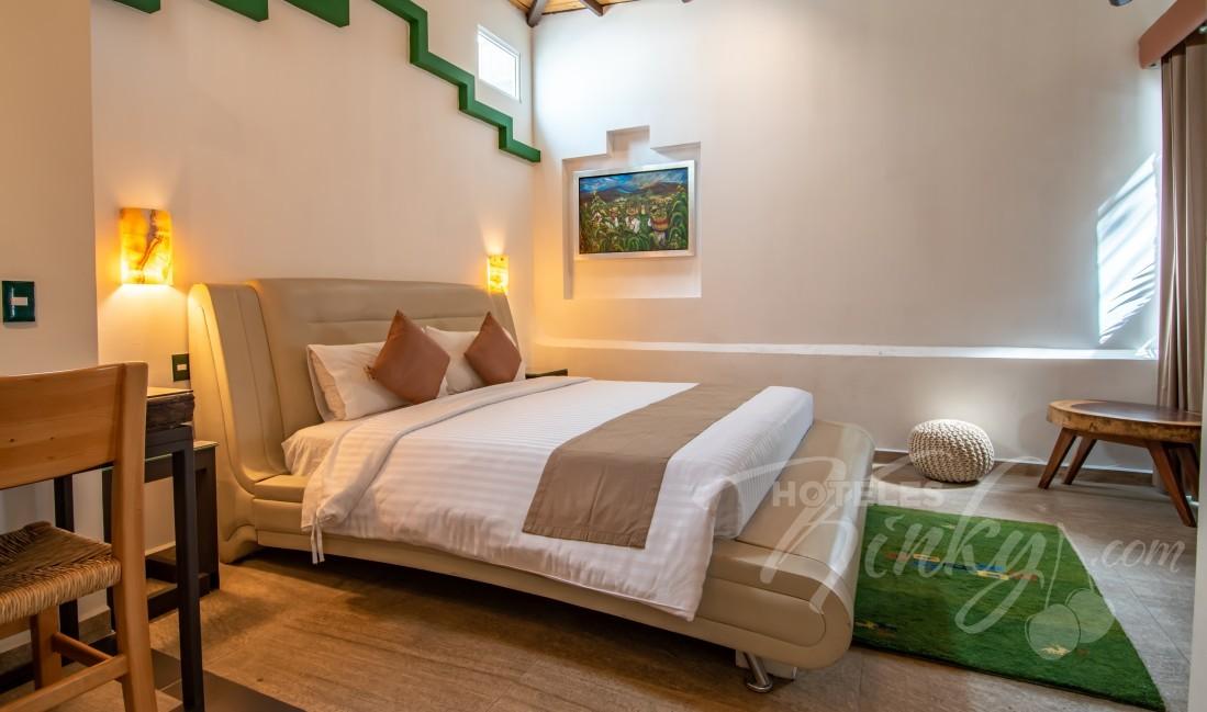 Love Hotel Casa Anzures Suites , Habitación Jr. Suite Maya