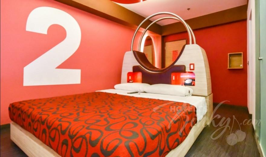 Habitaciòn Suite del Love Hotel Centra2