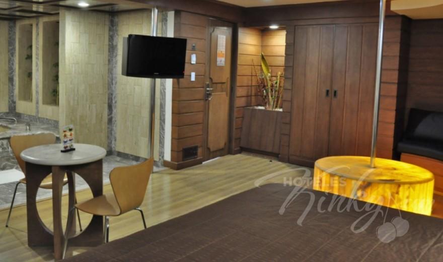 Love Hotel Suites & Villas Contadero, Habitacion Torre Jacuzzi