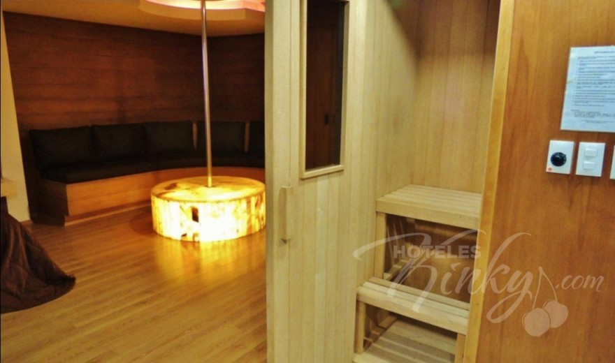 Love Hotel Suites & Villas Contadero, Habitacion Torre Jacuzzi con Sauna