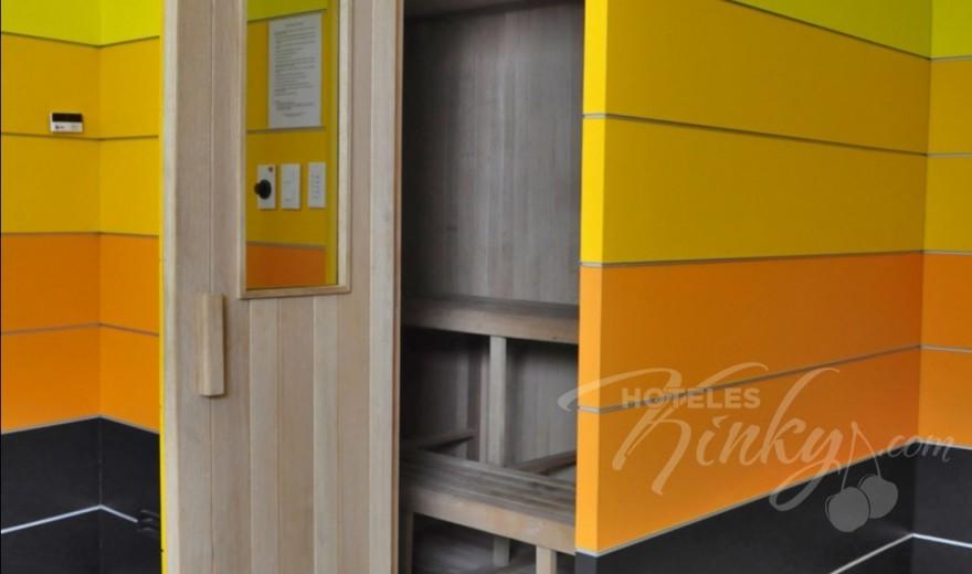 Habitaciòn Villa Jacuzzi con Sauna del Love Hotel Suites & Villas Contadero