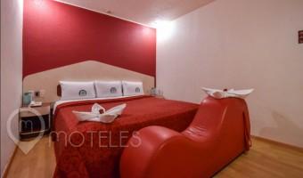 Love Hotel Dos Milpas, Habitacion Cama del Placer