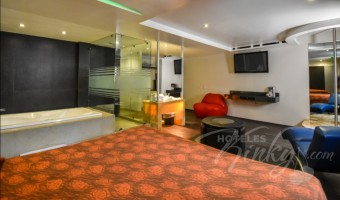 Love Hotel Eje Villas & Suites, Habitacion Jacuzzi