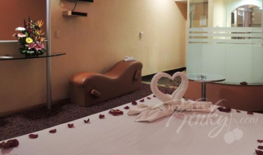 Love Hotel AutoHotel Fantasy, Habitacion Suite Amor