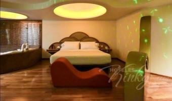 Love Hotel Franklin  Hotel y Villas , Habitacion Villa Jacuzzi