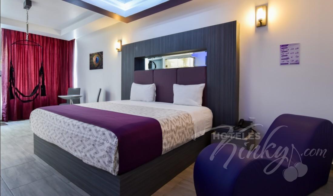 Love Hotel Grand Amore , Habitacion Junior Suite /Columpio