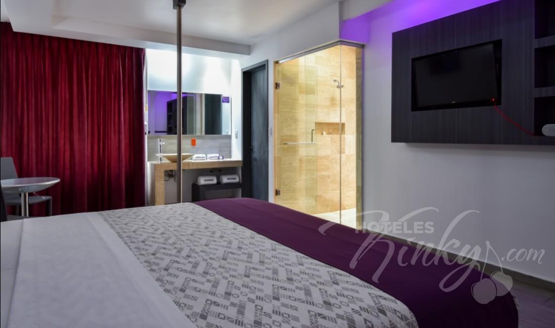 Habitaciòn Junior Suite /Tubo  del Love Hotel Grand Amore