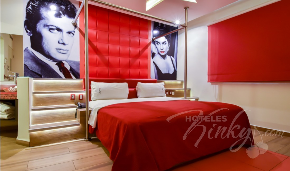 Love Hotel Hollywood Hotel & Villas, Habitacion Drive Room