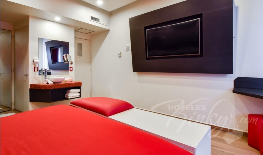 Habitaciòn Torre Sencilla del Love Hotel Hollywood Hotel & Villas