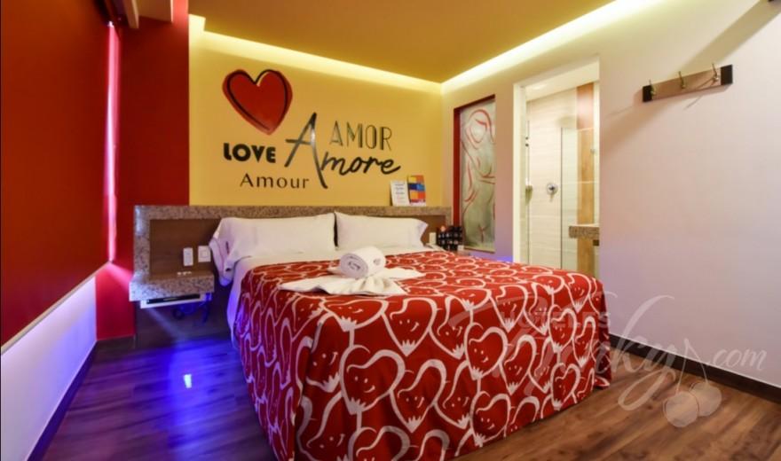 Love Hotel Hot Insurgentes, Habitación Mini