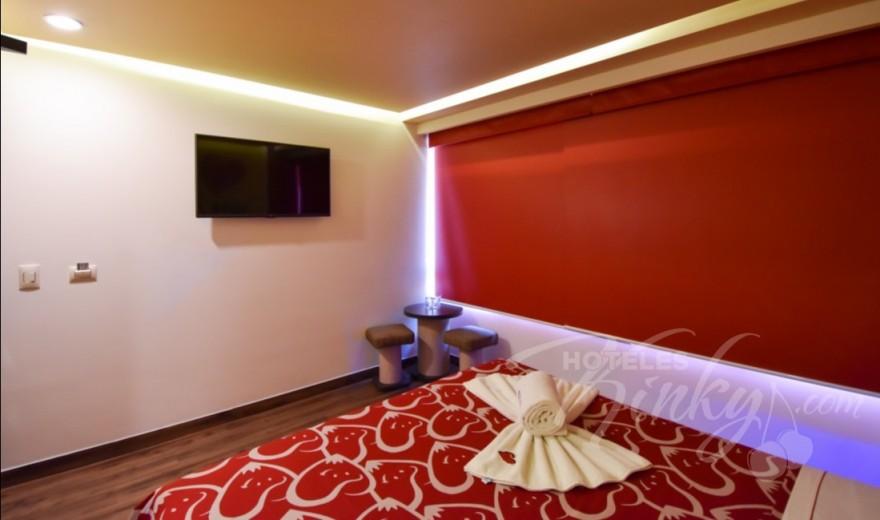 Love Hotel Hot Insurgentes, Habitacion Mini
