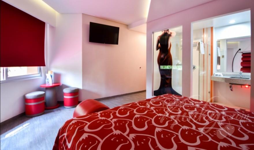 Habitaciòn Master  del Love Hotel Hot Narvarte