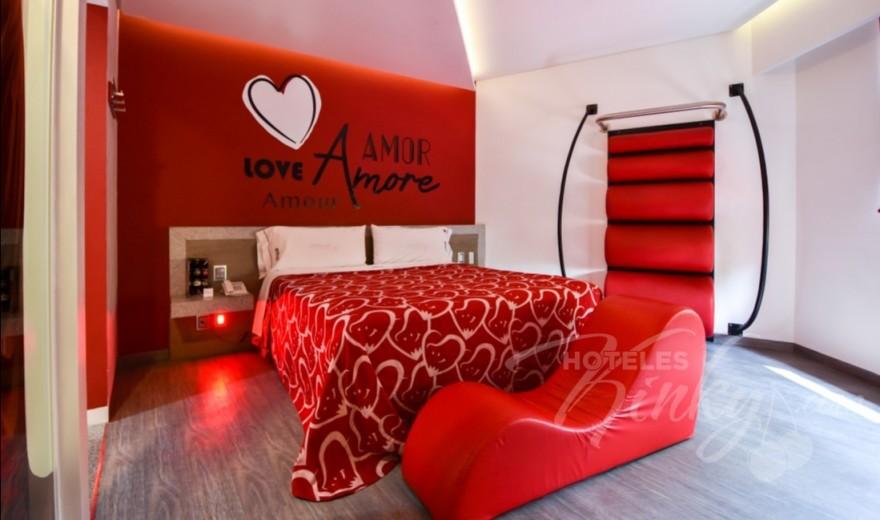 Love Hotel Hot Narvarte , Habitacion Master