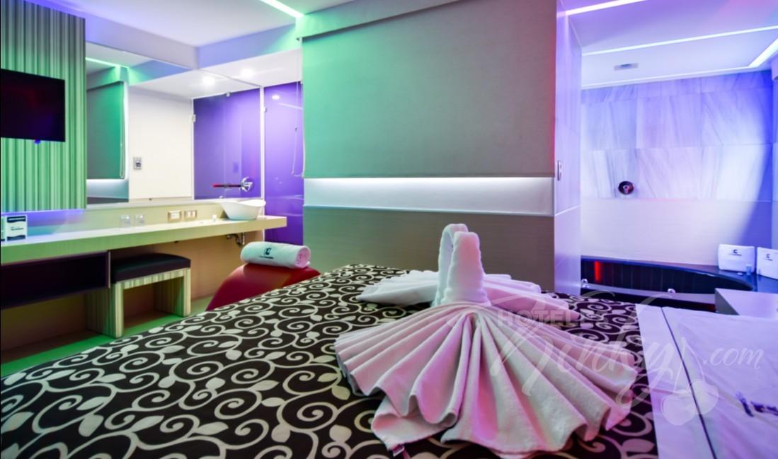 Habitaciòn Jacuzzi con Potro del Love Hotel Consulado