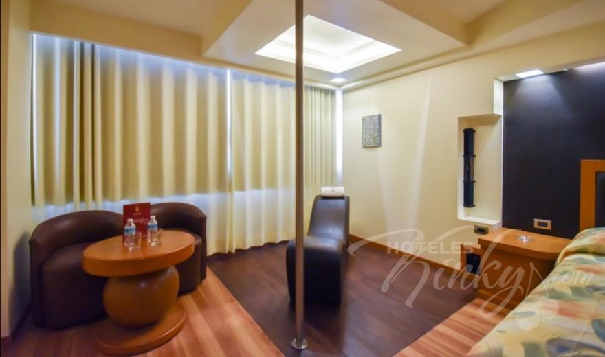 Love Hotel Oslo, Habitacion Suite Tubo