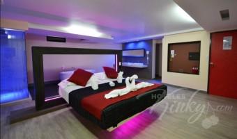 Love Hotel Huipulco, Habitación Jacuzzi Vapor