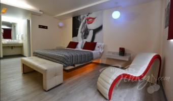 Love Hotel Huipulco, Habitacion Sencilla