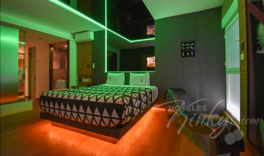Love Hotel Interlove, Habitacion Suite Jacuzzi