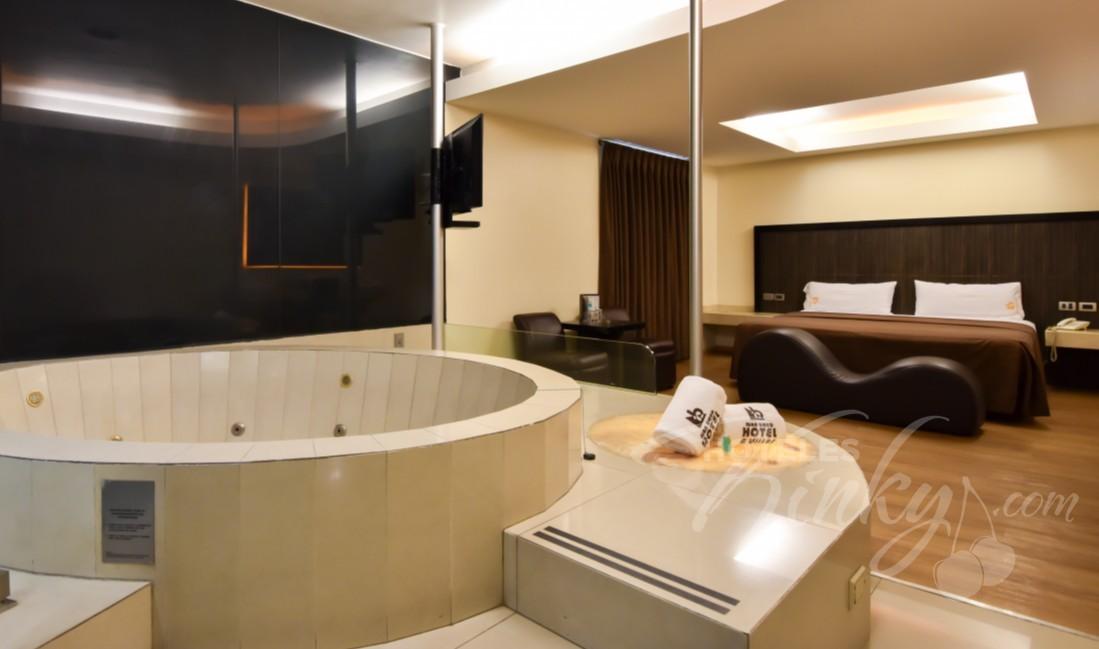 Love Hotel Juan Diego , Habitación Jacuzzi Motel