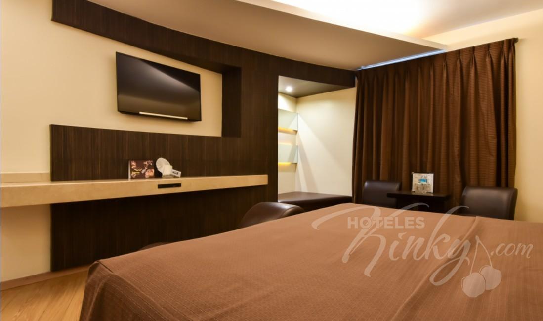 Habitaciòn Villa Sencilla  del Love Hotel Juan Diego
