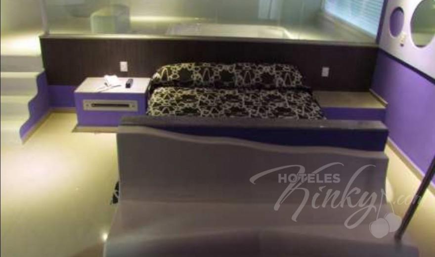 Habitaciòn Master Suite del Love Hotel Ke Color